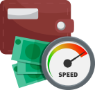 Payout speed